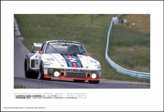 PORSCHE 935  JACKY ICKX/JOCHEN MASS/ROLF STOMMELEN – WATKINS GLEN 6 HOURS JULY 10, 1976