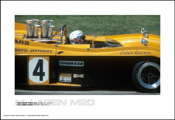MCLAREN M20 PETER REVSON – MID-OHIO CAN-AM JUNE 8, 1972