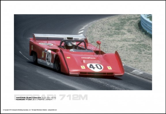 FERRARI 712M JEAN-PIERRE JARIER – WATKINS GLEN CAN-AM JULY 23, 1972