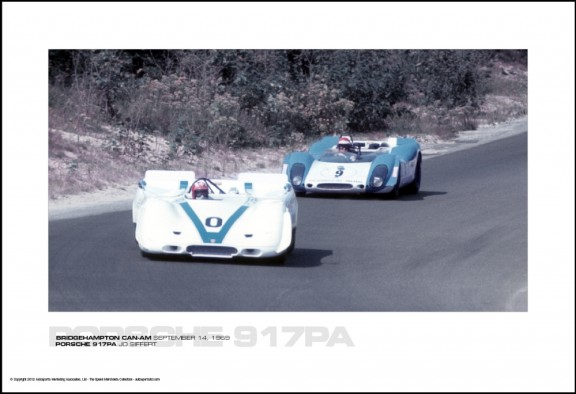 PORSCHE 917PA JO SIFFERT – BRIDGEHAMPTON CAN-AM SEPTEMBER 14, 1969