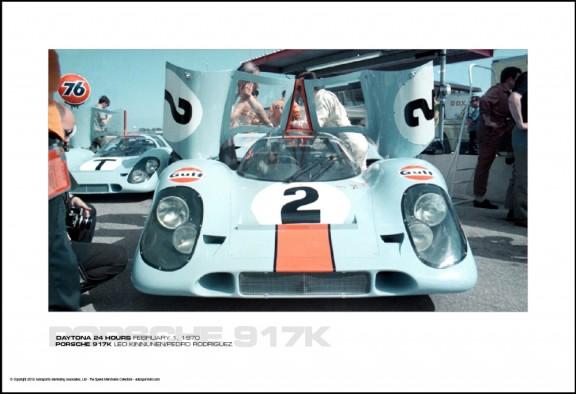 PORSCHE 917K LEO KINNUNEN/PEDRO RODRIGUEZ – DAYTONA 24 HOURS FEBRUARY 1, 1970