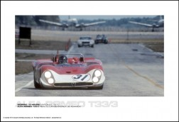 ALFA ROMEO T33/3 PIERS COURAGE/ANDREA DE ADAMICH - SEBRING 12 HOURS MARCH 21, 1970