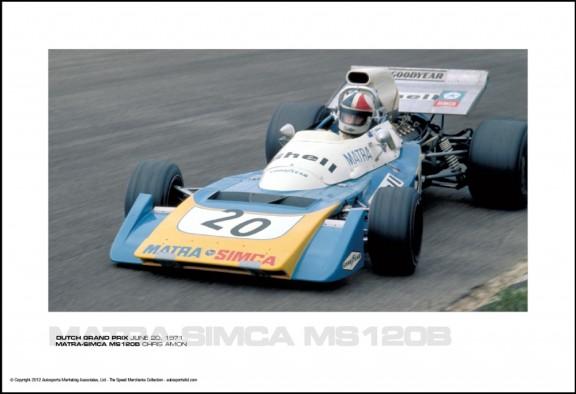 MATRA-SIMCA MS120B CHRIS AMON – DUTCH GRAND PRIX JUNE 20, 1971