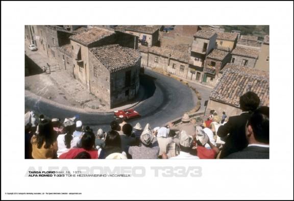 ALFA ROMEO T-33/3 TOINE HEZEMANS/NINO VACCARELLA – TARGA FLORIO MAY 16, 1971