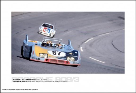 PORSCHE 908/3 PAUL BLANCPAIN/MARIO CASONI/REINHOLD JOEST – DAYTONA 24 HOURS FEBRUARY 4, 1973