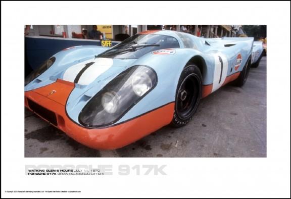 PORSCHE 917K BRIAN REDMAN/JO SIFFERT – WATKINS GLEN 6 HOURS JULY 11, 1970