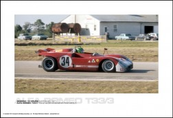ALFA ROMEO T33/3 TOINE HEZEMANS/HENRI PESCAROLO - SEBRING 12 HOURS MARCH 20, 1971