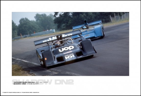SHADOW DN2 JACKIE OLIVER -WATKINS GLEN CAN-AM JULY 22, 1973