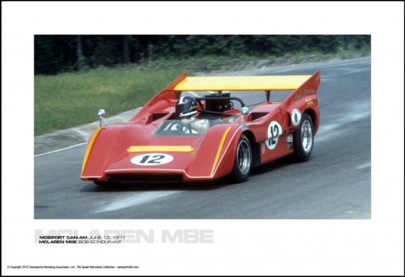 MCLAREN M8E BOB BONDURANT – MOSPORT CAN-AM JUNE 13, 1971