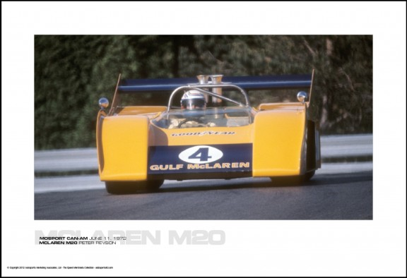 MCLAREN M20 PETER REVSON – MOSPORT CAN-AM JUNE 11, 1972