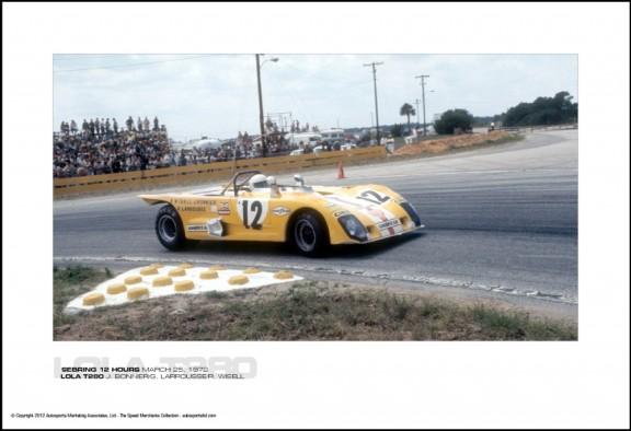 LOLA T280 J. BONNIER/G. LARROUSSE/R