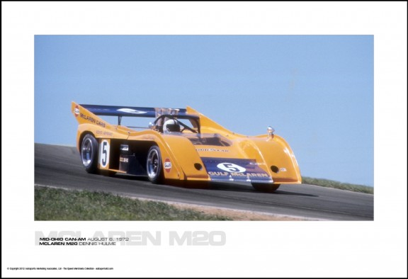 MCLAREN M20 DENNIS HULME – MID-OHIO CAN-AM AUGUST 6, 1972