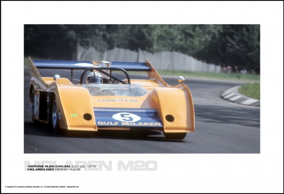 MCLAREN M20 DENNIS HULME – WATKINS GLEN CAN-AM JULY 23, 1972