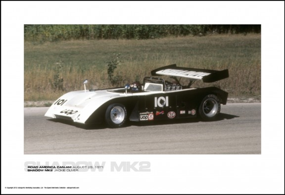 SHADOW MK2 JACKIE OLIVER – ROAD AMERICA CAN-AM AUGUST 29, 1971