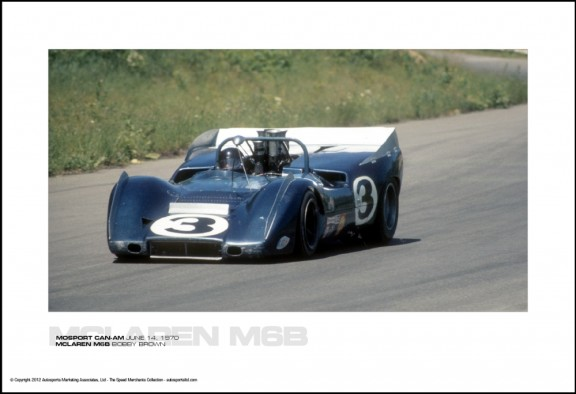 MCLAREN M6B BOBBY BROWN – MOSPORT CAN-AM JUNE 14, 1970