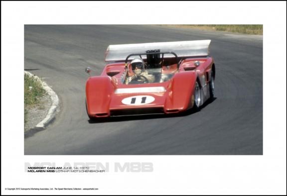 MCLAREN M8B LOTHAR MOTSCHENBACHER – MOSPORT CAN-AM JUNE 14, 1970