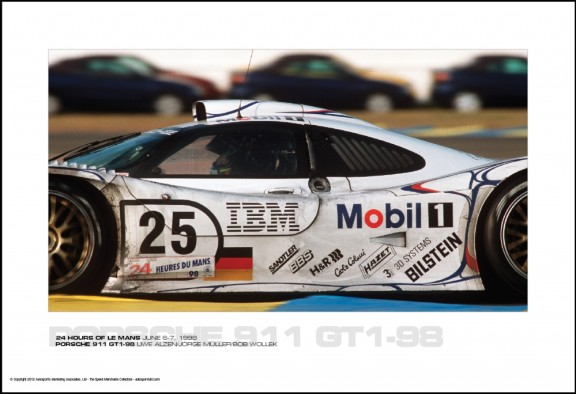 PORSCHE 911 GT1-98 UWE ALZEN/J