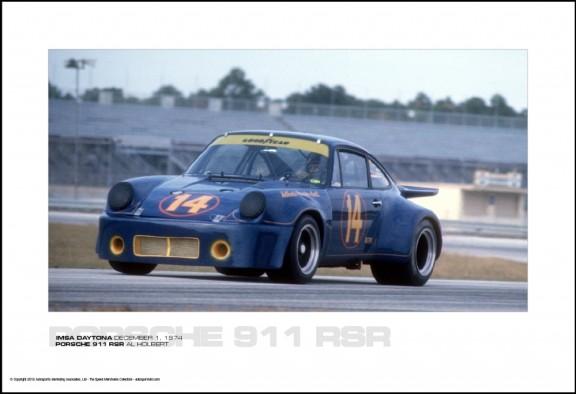 PORSCHE 911 RSR AL HOLBERT – IMSA DAYTONA DECEMBER 1, 1974