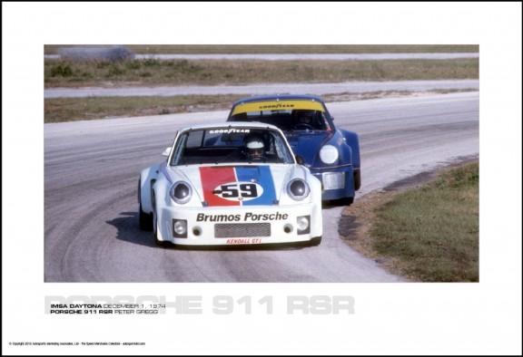PORSCHE 911 RSR PETER GREGG – IMSA DAYTONA DECEMBER 1, 1974