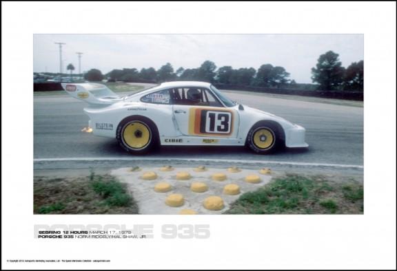 PORSCHE 935 NORM RIDGELY/HAL SHAW, JR