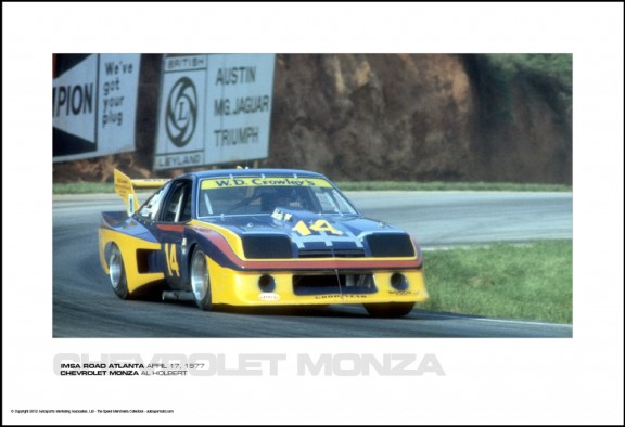 CHEVROLET MONZA AL HOLBERT – IMSA ROAD ATLANTA APRIL 17, 1977