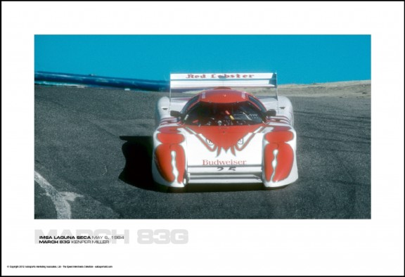 MARCH 83G KENPER MILLER – IMSA LAGUNA SECA MAY 6, 1984