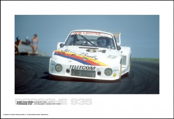 PORSCHE 935  JIM BUSBY/JOHN O