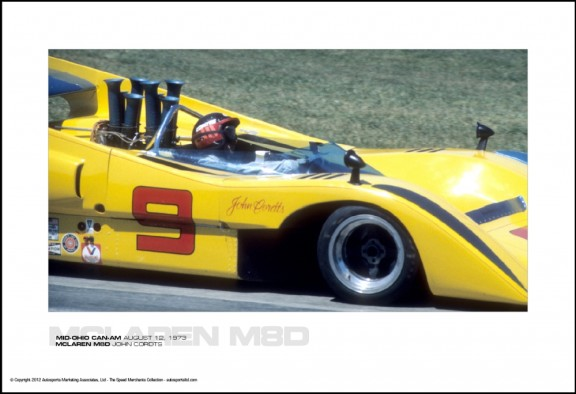 MCLAREN M8D JOHN CORDTS – MID-OHIO CAN-AM AUGUST 12, 1973