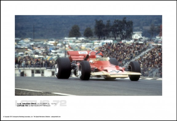 LOTUS 72 EMERSON FITTIPALDI – U.S