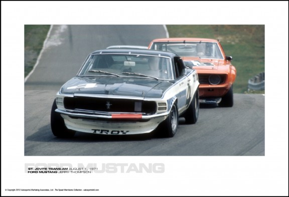 FORD MUSTANG JERRY THOMPSON – ST