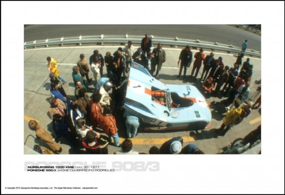 PORSCHE 908/3 JACKIE OLIVER/PEDRO RODRIGUEZ – N