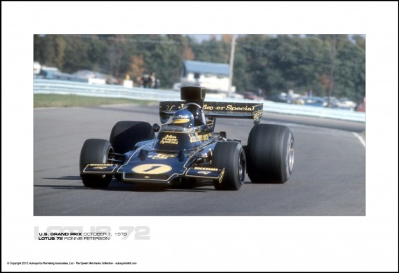 LOTUS 72 RONNIE PETERSON – U.S