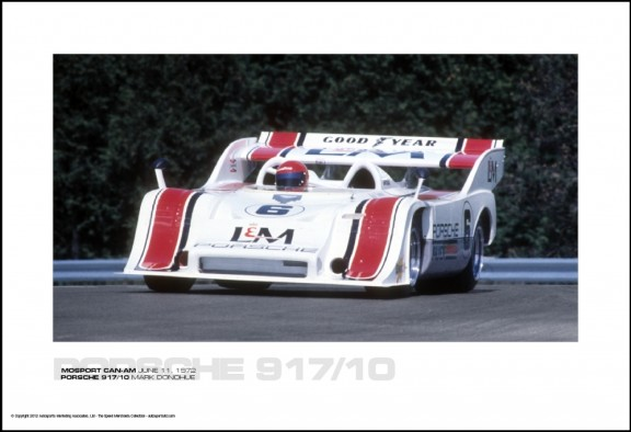 PORSCHE 917/10 MARK DONOHUE – MOSPORT CAN-AM JUNE 11, 1972