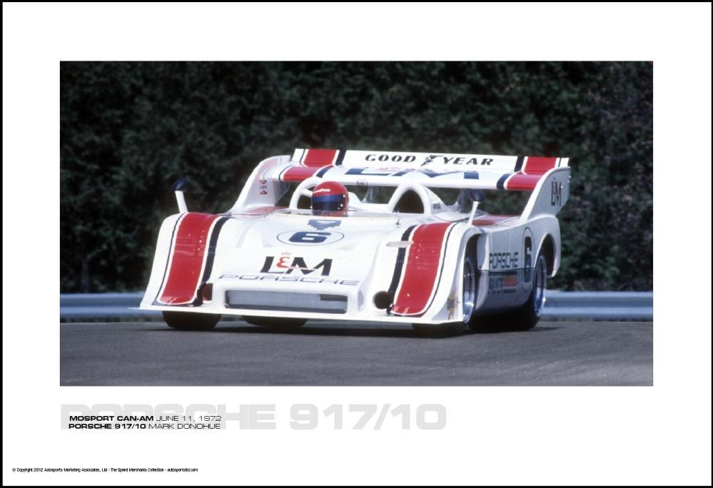 Porsche 917 10 Mark Donohue Mosport Can Am June 11 1972