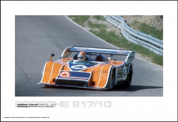 PORSCHE 917/10 HANS WIEDMER – MOSPORT CAN-AM JUNE 10, 1973