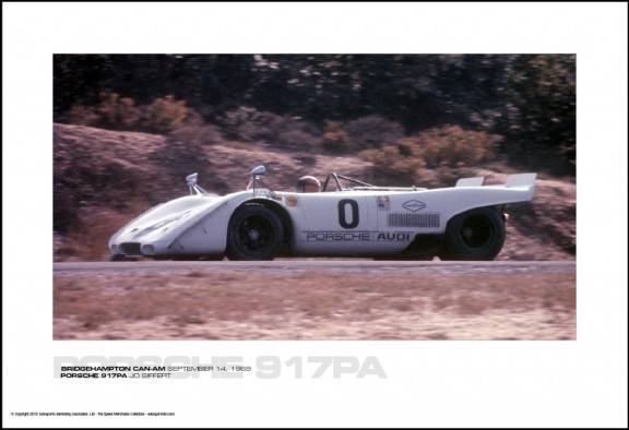 PORSCHE 917PA JO SIFFERT – BRIDGEHAMPTON CAN-AM SEPTEMBER 14, 1969