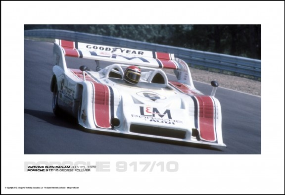 PORSCHE 917/10 GEORGE FOLLMER – WATKINS GLEN CAN-AM JULY 23, 1972