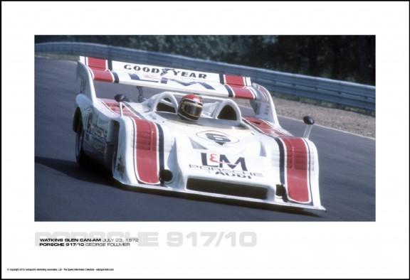 PORSCHE 917/10 GEORGE FOLLMER – WATKINS GLEN CAN-AM JULY 23, 1972
