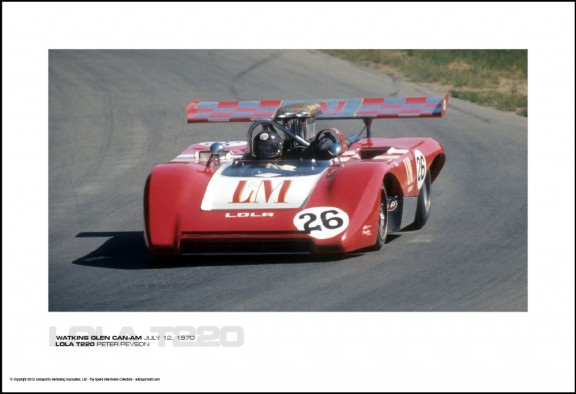 LOLA T220 PETER REVSON – WATKINS GLEN CAN-AM JULY 12, 1970