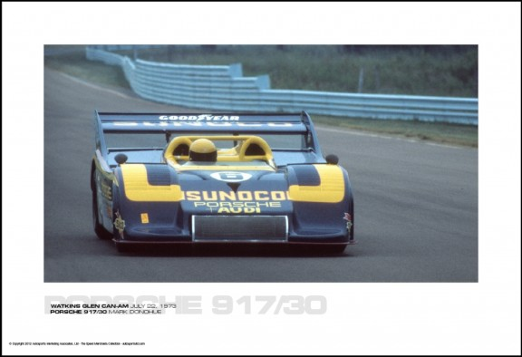 PORSCHE 917/30 MARK DONOHUE – WATKINS GLEN CAN-AM JULY 22, 1973