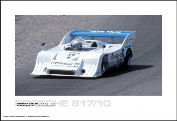 PORSCHE 917/10 JODY SCHECKTER – MOSPORT CAN-AM JUNE 10, 1973