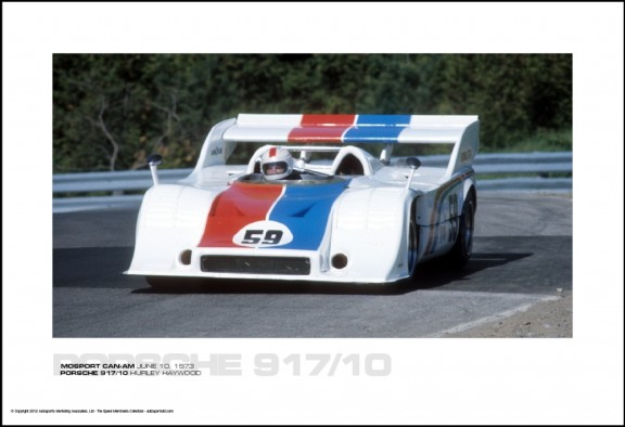 PORSCHE 917/10 HURLEY HAYWOOD – MOSPORT CAN-AM JUNE 10, 1973