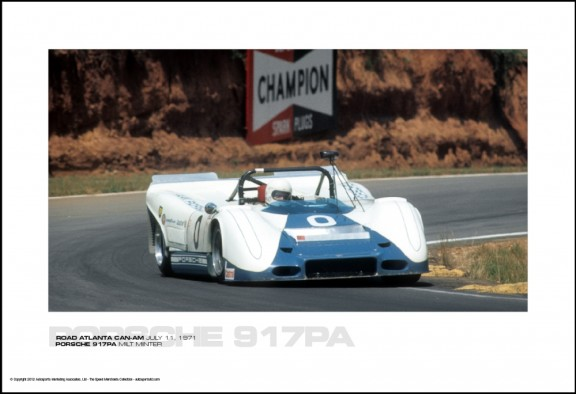 PORSCHE 917PA MILT MINTER – ROAD ATLANTA CAN-AM JULY 11, 1971