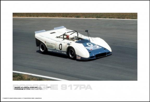 PORSCHE 917PA MILT MINTER – ROAD ATLANTA CAN-AM JULY 11, 1971