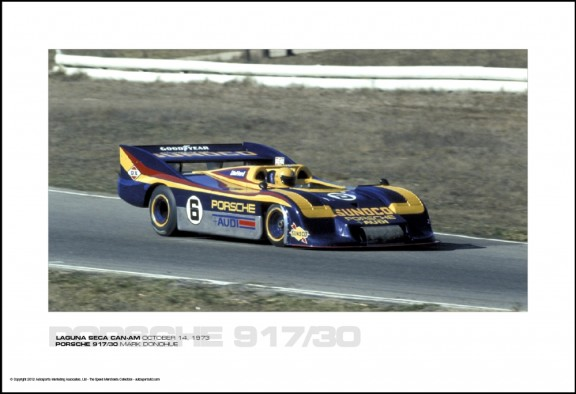 PORSCHE 917/30 MARK DONOHUE – LAGUNA SECA CAN-AM OCTOBER 14, 1973