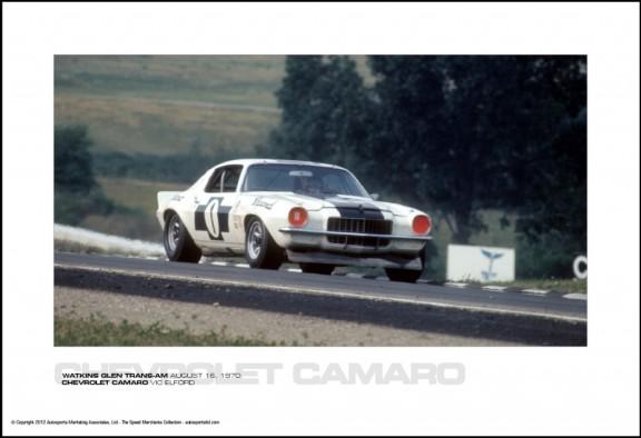 CHEVROLET CAMARO VIC ELFORD – WATKINS GLEN TRANS-AM AUGUST 16, 1970