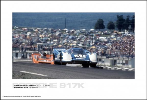 PORSCHE 917K VIC ELFORD – WATKINS GLEN CAN-AM JULY 12, 1970