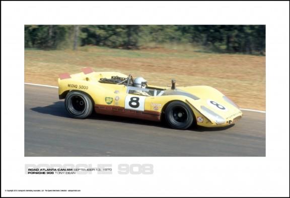 PORSCHE 908 TONY DEAN – ROAD ATLANTA CAN-AM SEPTEMBER 13, 1970