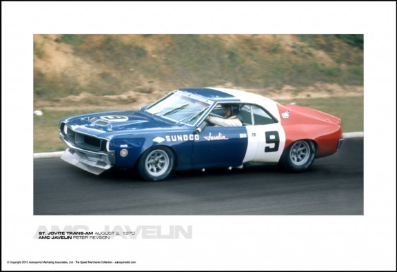 AMC JAVELIN PETER REVSON – ST