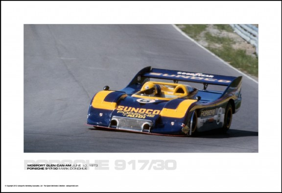 PORSCHE 917/30 MARK DONOHUE – MOSPORT GLEN CAN-AM JUNE 10, 1973
